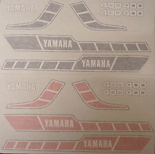 YAMAHA  RD400 RD250  E  F  MODELS  FULL PAINTWORK DECAL KIT