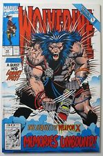 Wolverine #48 1991 (C5546) Marvel Sequel to Weapon X A Quest Into Logan's Past