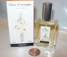 FRAGONARD FLEUR D'ORANGER Perfume 15 ML SPRAY EDT ORANGE BLOSSOM MUSK FRAGRANCE