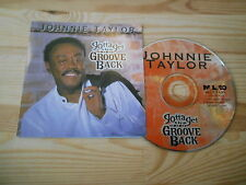 CD Pop Johnnie Taylor - Gotta Get The Groove Back (12 Song) MALACO -cd/booklet-