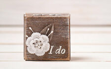 Engagement Ring Box Proposal Box Wedding Ring Box Ring Pillow Ring Bearer