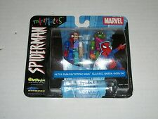 Marvel Minimates Series 2 PETER PARKER/SPIDER-MAN AND GREEN GOBLIN 2 Pack