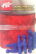 NEW PSE String Chubs BLUE 4 Pack Archery Bow String Silencers 4pc FITS ANY BOW