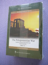 Teaching Co Great Courses  CDs          THE PELOPONNESIAN  WAR     new & sealed