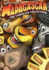 Madagascar: The Complete Collection (DVD, 2013, 3-Disc Set) BOX SET