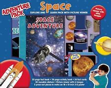 Explore & Learn Space Adventure Pack Picture Viewer Fact & Activity Books 3D Pos