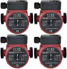 4 x CBS 60 CENTRAL HEATING CIRCULATOR PUMP DOMESTIC-REPLACES GRUNDFOS-MYSON-WILO