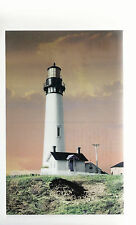 Pigeon Point Lighthouse  California    in 1934   Unused Chrome Postcard 8194