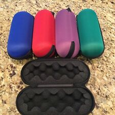 PURPLE Protective Travel Hard Storage Padded Case For Smoking Pipe with Zipped