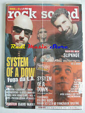 rivista ROCK SOUND 41/2001 System Of A Down + CD + POSTER Dave Navarro Blink 182