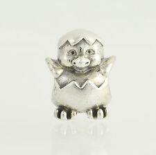 New Pandora Bead Charm - Sterling Silver 790528 Easter Chick Retired ALE 925