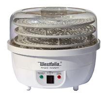 Westfalia 3in1 Dörrgerät 750W Dörrer Dampfgarer Dörrautomat Obsttrockner ROHKOST