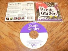 The Exotic Garden The Guide To Growing Plants PC CD-ROM SoftKey 1994 Windows 3.1
