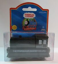 THOMAS THE TANK TRAIN-WOODEN MAVIS W/COLLECTOR CARD RED LABEL 2001 *NEW IN BOX*
