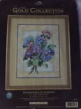 Hydrangea Elegance The Gold Collection Dimensions