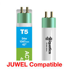 iQuatics Aquarium 54w JUWEL Compatible T5 Bulb - Actinic 420nm - 1047mm /42""