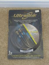 Ultralink Videophile S-Video 1M 3ft ULVS-1M Interconnect Cable Wire