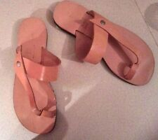 Ancient Greek Womens Roman Genuine Leather Handmade Sandals Shoes New Summer 8