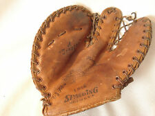 Vintage....Spalding....Youth..... Baseball....First...Base....Mitt......U.S.A.