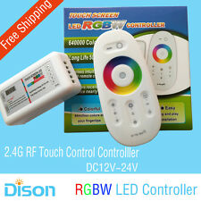 2.4G RGB LED Controller with RF Touch Screen Wireless Remote Controller