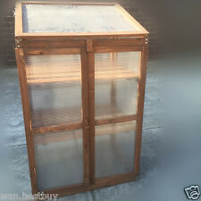 WOODEN FRAME GARDEN COLD FRAME GREEN HOUSE-Brand New In Box