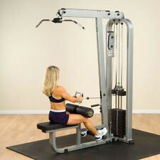 Body-Solid Pro Clubline Lat Mid Row - 310 lb. stack- SLM300G/3