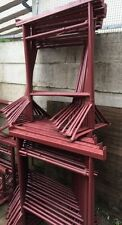 BUILDERS STEEL ADJUSTABLE TRESTLES BANDSTANDS NEW SIZE 3 MAX 1.68MT ESSEX