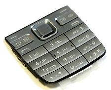 ORIGINALE Nokia e52 Tastiera Tastiera Tasti Opaco Tappetino KEY PAD Tasti Keypad GRIGIO