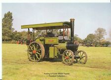Steam Tractor Postcard - Aveling & Porter Steam Tractor  AB902