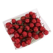 48PCS Xmas Tree Red Apple Christmas Decoration Foam Apples Christmas Ornaments