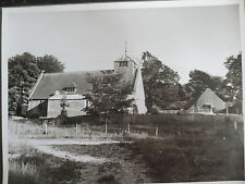 VINTAGE Press Photograph INKPEN CHURCH St Michaels Nr Hungerford BERKSHIRE 1961