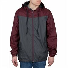 O'NEILL Men's CAPITOLA Shell Jacket/Windbreaker - BUR - Large - NWT