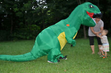 Halloween Adult T-REX Inflatable Dinosaur Costume Fancy Dress Animal Outfit Suit