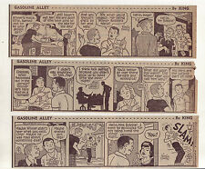 Gasoline Alley by Dick Moores - 26 large daily comic strips from August 1966