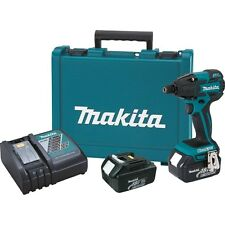 Makita 18-Volt LXT Lithium-Ion Cordless Impact Driver Kit & Bit Set | LXDT08X1