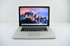 "15"" Apple MacBook Pro 2011 2GHz Quad Core i7 4GB Ram 500GB MC721LL/A +WARRANTY!"