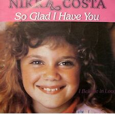 ++NIKKA COSTA so glad i have you/i believe in love SP 1981 EX++