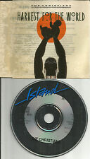 THE CHRISTIANS Harvest for the World UNRELEASED & REMIX CD single USA Seller 88