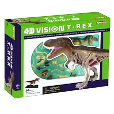 4D Vision White T-Rex Dinosaur Anatomy Model Kit - Puzzle 26092