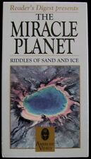 The Miracle Planet: Riddles Of Sand And Ice (VHS, Ambrose Video/ Readers Dig..)