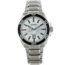 CITIZEN ECO-DRIVE AW1190-88A MEN'S STAINLEES STEEL WATCH
