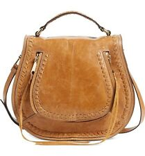Rebecca Minkoff Vanity Saddle Bag, Color Cuoio, Crossbody