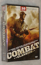 Combat Movie Classics 50 War Military Films 12 DVD Box Set NEW SEALED