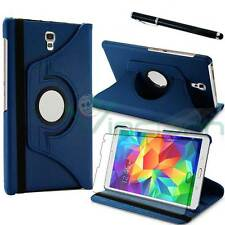 Pellicola+Pennino+Custodia Rotante BLU per Samsung Galaxy Tab S 8.4 T700 T705