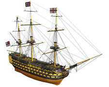 "Beautiful, brand new wooden model ship kit by Billing Boats: the ""HMS Victory"""