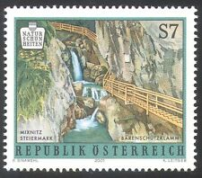Austria 2001 Waterfalls/River/Tourism 1v (n24752)