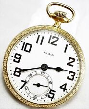 Vintage Elgin B.W Raymond 21 Jewel Grade 478 Pocket Watch