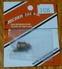 Precision Scale HOn3 #31235 Dome, Steam, DSP&P, HOn3 (Brass Casting)