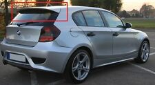 BMW SERIES 1 E81 E87 2004 - 2011 REAR ROOF SPOILER AERO LOOK NEW