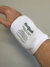 Medi Beads Carpal Cuff Heatable Therapy Treatment  for Carpal Tunnel, Arthritis